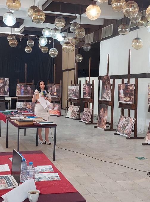 """13 - Библиотеката """"Борка Талески"""" гостин на """"Штипско културно лето"""" со три поставки"""