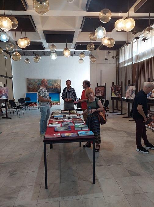 """18 - Библиотеката """"Борка Талески"""" гостин на """"Штипско културно лето"""" со три поставки"""