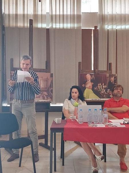 """19 - Библиотеката """"Борка Талески"""" гостин на """"Штипско културно лето"""" со три поставки"""