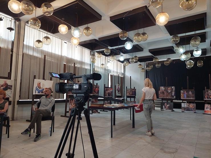 """7 - Библиотеката """"Борка Талески"""" гостин на """"Штипско културно лето"""" со три поставки"""