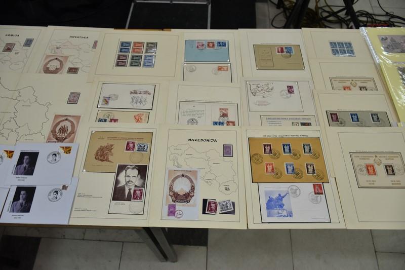ELS 0045 - Прилеп за Борка Талески - 100 години од раѓањето