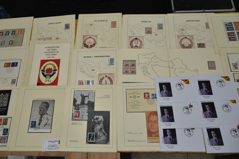 ELS 0050 - Прилеп за Борка Талески - 100 години од раѓањето